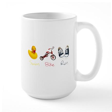 Baby Tri Large Mug
