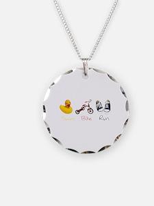 Baby Tri Necklace
