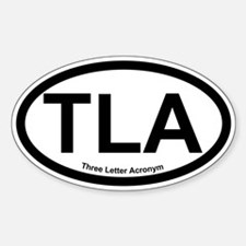 Cute Three letter Decal