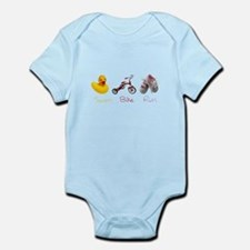 Baby Girl Tri Infant Bodysuit