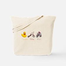 Baby Girl Tri Tote Bag