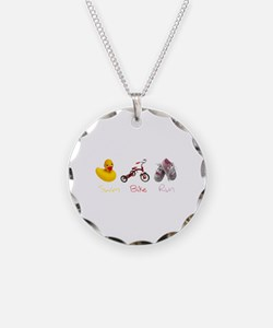 Baby Girl Tri Necklace