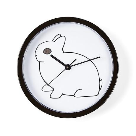 Dwarf Hotot Wall Clock