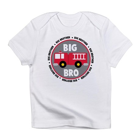 Big Brother Fire Truck Infant T-Shirt