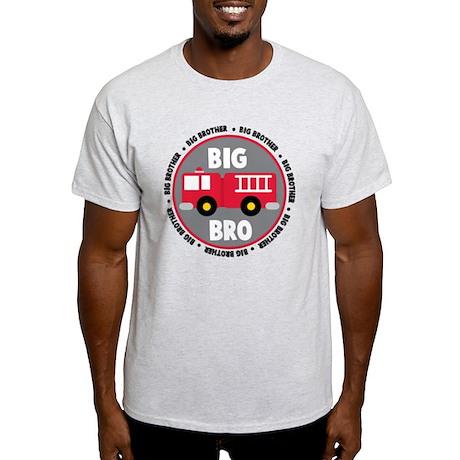 Big Brother Fire Truck Light T-Shirt