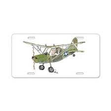 Stinson L5 Aluminum License Plate