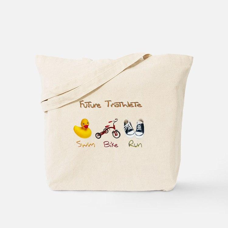 Future Triathlete Tote Bag