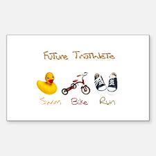 Future Triathlete Decal