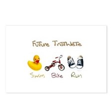Future Triathlete Postcards (Package of 8)