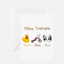 Future Triathlete Greeting Cards (Pk of 10)