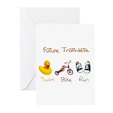 Future Triathlete Greeting Cards (Pk of 20)