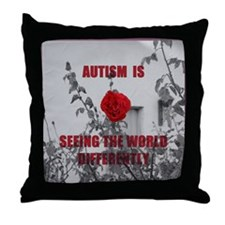 Seeing The World Differently Throw Pillow