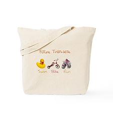 Future Girl Triathlete Tote Bag