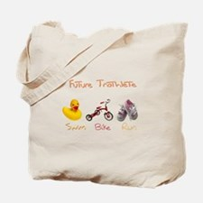 Future Girl Triathlete Tote Bag