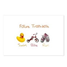 Future Girl Triathlete Postcards (Package of 8)