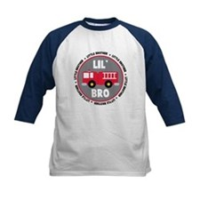 Lil Brother Fire Truck Tee