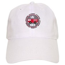 Lil Brother Fire Truck Baseball Cap
