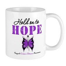 Crohn's Disease HoldOnToHope Mug