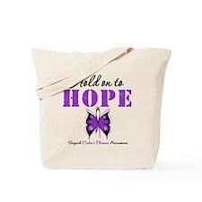 Crohn's Disease HoldOnToHope Tote Bag