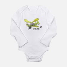 Who's Your Mechanic? Long Sleeve Infant Bodysuit