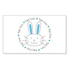 Hoppy Easter Bunny boy Decal