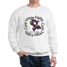 Crohn's Disease Hope Faith Sweatshirt