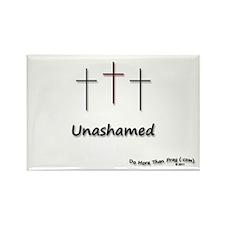 Rectangle Magnet (10 pack) - 3 Crosses Unashamed