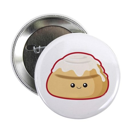 "Cinnamon Bun 2.25"" Button"