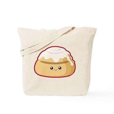 Cinnamon Bun Tote Bag