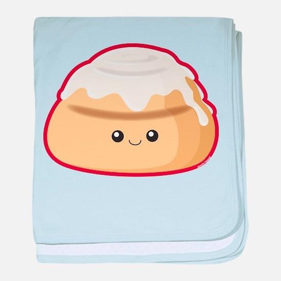 Cinnamon Bun baby blanket