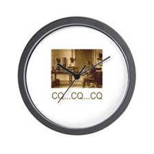 CQ...CQ...CQ Wall Clock