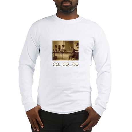 CQ...CQ...CQ Long Sleeve T-Shirt