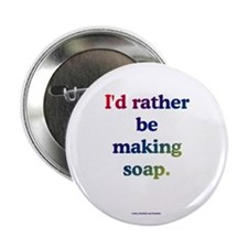 """Cute Soap making 2.25"""" Button (10 pack)"""
