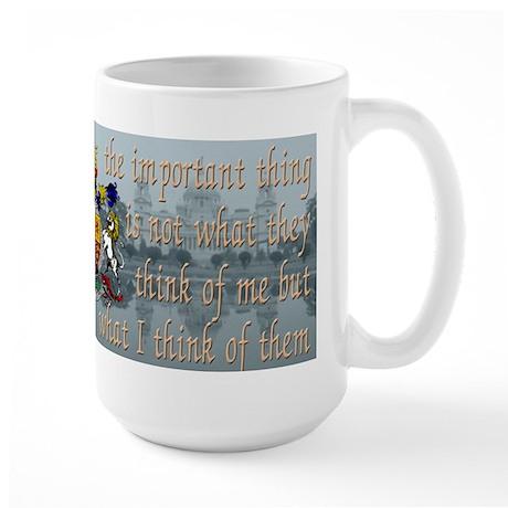 Queen Victoria (English) - Large Mug