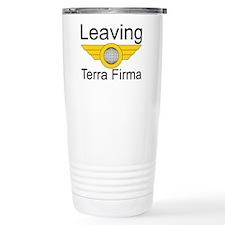 Leaving Terra Firma Travel Coffee Mug