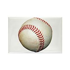 A Baseball Rectangle Magnet