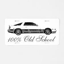 100 % Old School MKIII Aluminum License Plate