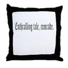 Enthralling Tale Throw Pillow