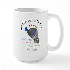 One Step Closer to Home Large Mug
