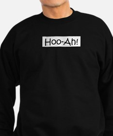 Hoo-ah! (Scent of a Woman quo Sweatshirt (dark)