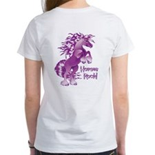 Purple Horses Rock Tee