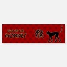 Year of the Monkey Bumper Bumper Sticker