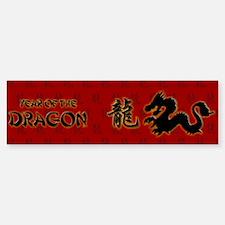 Year of the Dragon Bumper Bumper Sticker