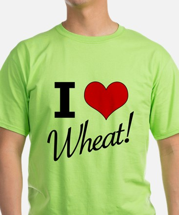 I Love Wheat - The Tick T-Shirt