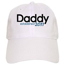 New Daddy Established 2011 Baseball Cap