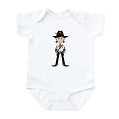 Cute Cowboy Sheriff Infant Bodysuit