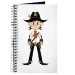 Cute Cowboy Sheriff Journal