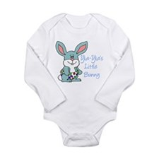 Yia-Yia's Little Bunny Long Sleeve Infant Bodysuit