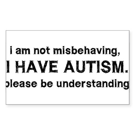 i have autism. Sticker