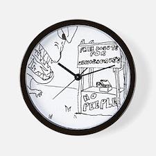 Free Donuts Wall Clock